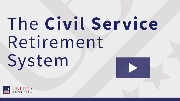 The Civil Service Retirement System v01-01